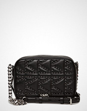Karl Lagerfeld bags Karl Lagerfled-Kuilted Studs Camera Bag
