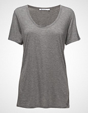 T by Alexander Wang Drapey Jersey Tee W/ T Darting Detail