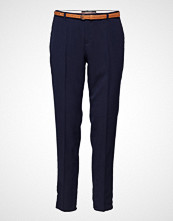 Scotch & Soda Classic Tailored Pants In Solids, Sold With A Belt
