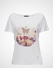 Please Jeans T-Shirt Hippie T-shirts & Tops Short-sleeved Hvit PLEASE JEANS