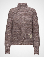 Wood Wood Katie Turtleneck Høyhalset Pologenser Brun WOOD WOOD