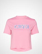Calvin Klein Calvin Logo Cropped Tee