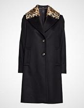 Sand Cashmere Coat W - Clareta L Fur