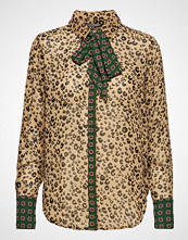 Scotch & Soda Mixed Print Shirt With Bow