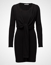 T by Alexander Wang High Twist L/S Dress W/ Front Tie