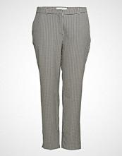Violeta by Mango Gingham Check Pattern Trousers