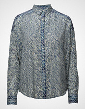 Scotch & Soda Boxy Fit Dropped Shoulder Shirt