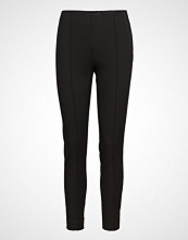Selected Femme Slfilue Mw Pintuck Pant Black B