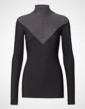Skins Dnamic Thermal Womens L/S Mckneck W Zip T-shirts & Tops Long-sleeved Svart SKINS