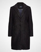 Park Lane Boucle Coat Ullfrakk Frakk Svart PARK LANE