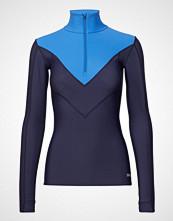 Skins Dnamic Thermal Womens L/S Mckneck W Zip T-shirts & Tops Long-sleeved Blå SKINS