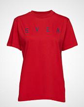 Svea Wanda Tee T-shirts & Tops Short-sleeved Rød SVEA