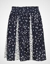 French Connection Komo Drape Mini Flared Skirt