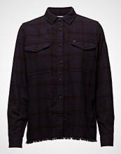Lee Jeans Frayed Hem Shirt