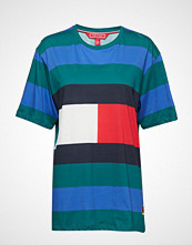 Hilfiger Collection Rugby Stp T-Shirt Ss T-shirts & Tops Short-sleeved Blå HILFIGER COLLECTION