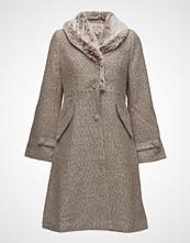 Cream Charlie Coat Ullfrakk Frakk Rosa CREAM