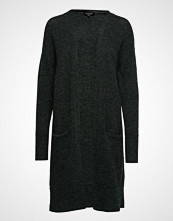 Selected Femme Slflivana Ls Knit Cuff Cardigan Noos Strikkegenser Cardigan Grønn Selected Femme