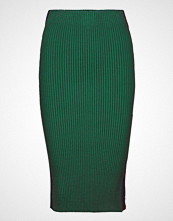 Scotch & Soda Knitted Tube Skirt With Sporty Side Panel