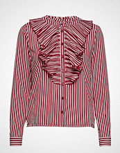 Only Onlmilan L/S Striped Pleat Shirt Wvn