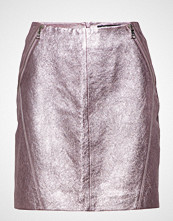 Karl Lagerfeld Karl Lagerfeld-Karl X Kaia Leather Skirt