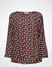 Masai Bea Top Bluse Langermet Multi/mønstret MASAI