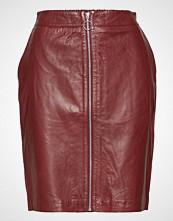 Saint Tropez Leather Pencil Skirt
