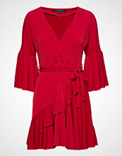 French Connection Ellette Jersey Vnck Wrap Dress