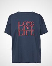 Gestuz Live Tee Ma18 T-shirts & Tops Short-sleeved Blå GESTUZ