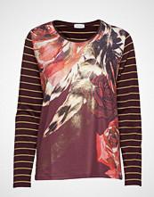 Gerry Weber T-Shirt Long-Sleeve T-shirts & Tops Long-sleeved Rød GERRY WEBER