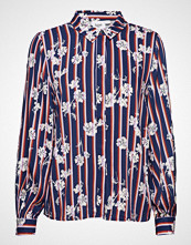 Saint Tropez Flower Stripe P Shirt