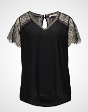 Violeta by Mango Lace Panel Blouse