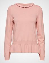 Saint Tropez Peplum Sweater Strikket Genser Rosa SAINT TROPEZ