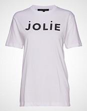 French Connection Jolie (Pretty) Sslv Glittr Tee