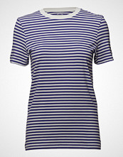 Selected Femme Sfmy Perfect Ss Tee - Box Cut-Stri Color
