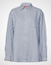 Hilfiger Collection Iconic Tommy Stripe Shirt Ls Langermet Skjorte Blå HILFIGER COLLECTION