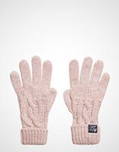 Superdry Arizona Cable Gloves Hansker Rosa SUPERDRY
