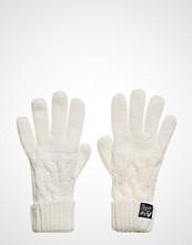Superdry Arizona Cable Gloves Hansker Creme SUPERDRY