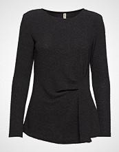 Imitz T-Shirt L/S T-shirts & Tops Long-sleeved Svart IMITZ