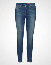 Superdry Supervintage- Skinny Mid Rise Skinny Jeans Blå SUPERDRY