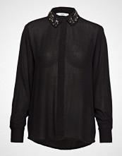 Mango Beaded Collar Shirt