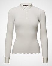 Rosemunde Silk T-Shirt Regular Ls W/ Collar &