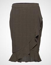 Coster Copenhagen Skirt In Checks W Ruffle