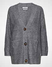 Mango Long Wool-Blend Cardigan