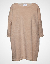 R/H Studio Square Dress Strikket Genser Beige R/H STUDIO