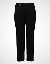 Violeta by Mango Belt Straight-Fit Trousers