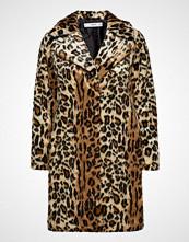 Mango Leopard Faux-Fur Coat