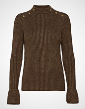Scotch & Soda Cosy Pullover Knit With Tonal Press Buttons At Shoulders