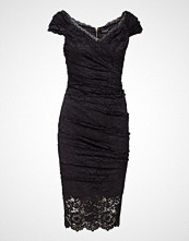 Marciano by GUESS Riva Lace Dress Knelang Kjole Svart MARCIANO BY GUESS