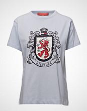 Hilfiger Collection Crest T Shirt T-shirts & Tops Short-sleeved Blå HILFIGER COLLECTION