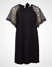 Violeta by Mango Combined Lace Dress